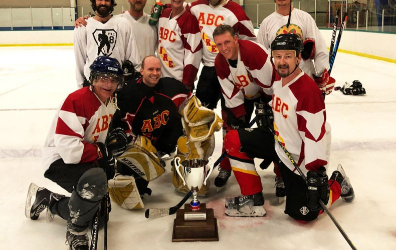 Extra Special Shoutout to ➟ ➟ ➟ABC Fire ➟ ➟ ➟for winning the A League Spring Adult Hockey Championship!