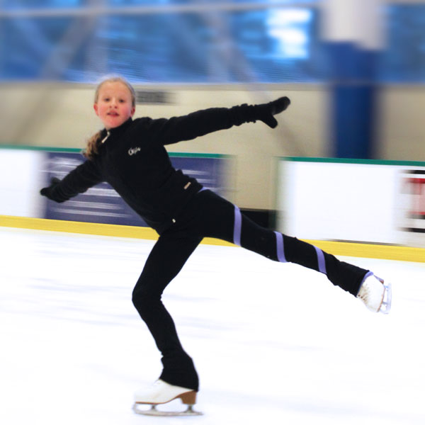 Private Figure Skating Lessons by Joanie Malarchuk, photo by Crystal Ricotta
