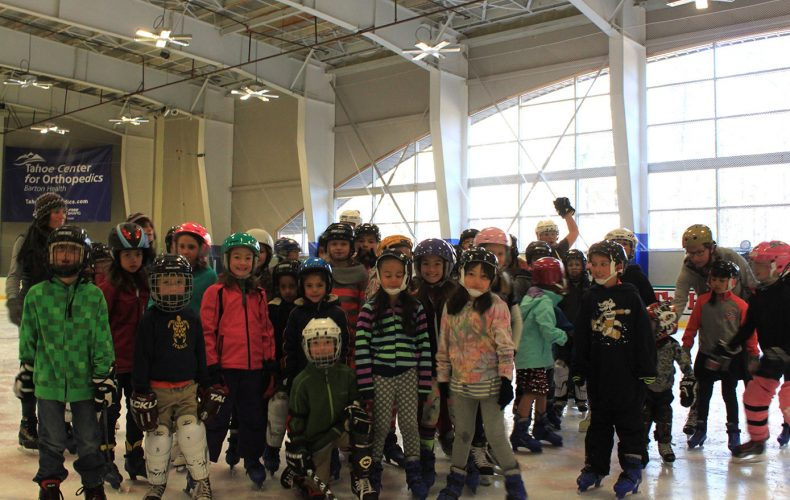 "Good Morning Lake Tahoe Elementary Students. Register for 2018-19 ""Wake & Skate"""