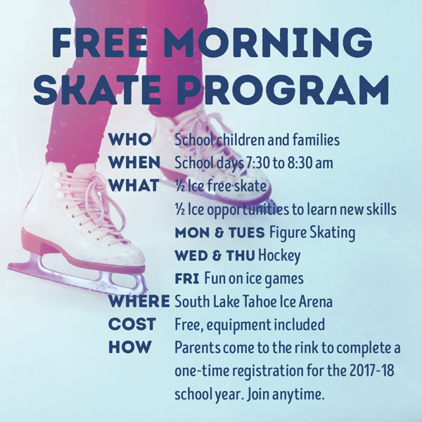 Free Morning Skate Program