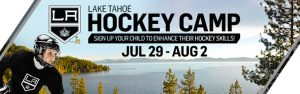 Lake Tahoe Hockey Camp by LA Kings