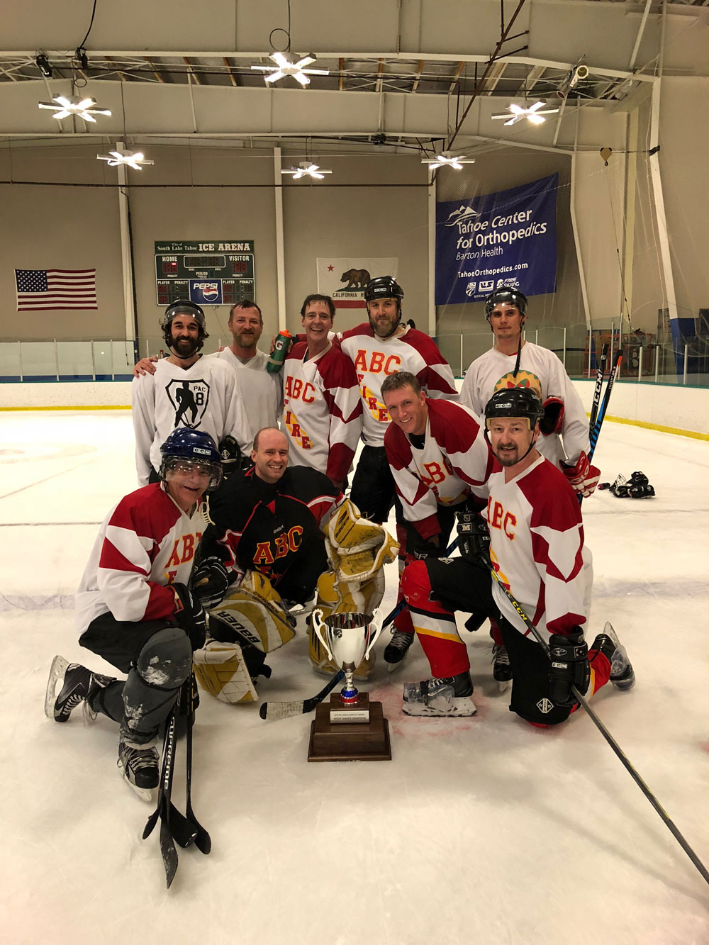 A League Hockey Winners