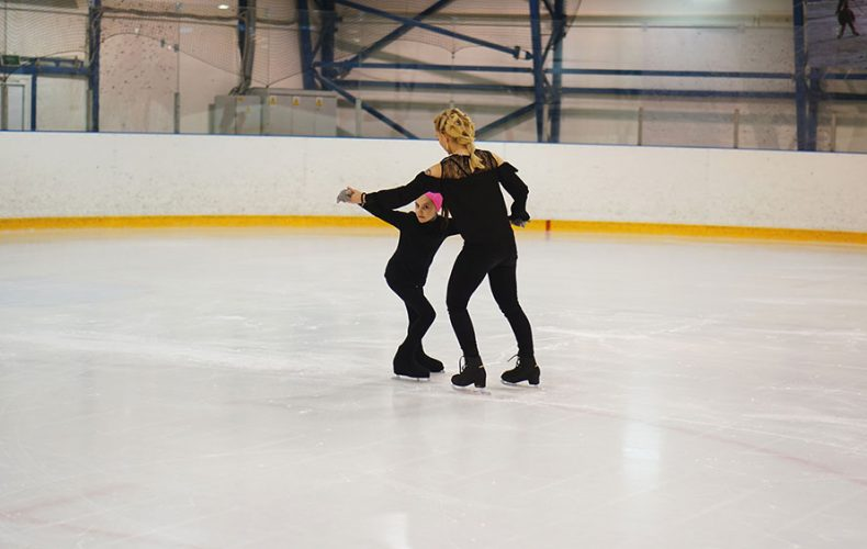 Coach Jorie and Ileana join Skate School