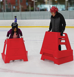 Skate Helper for kids and adults to learn to ice skate at South Lake Tahoe Ice Arena